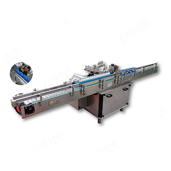 Vertical wet glue labeling machine