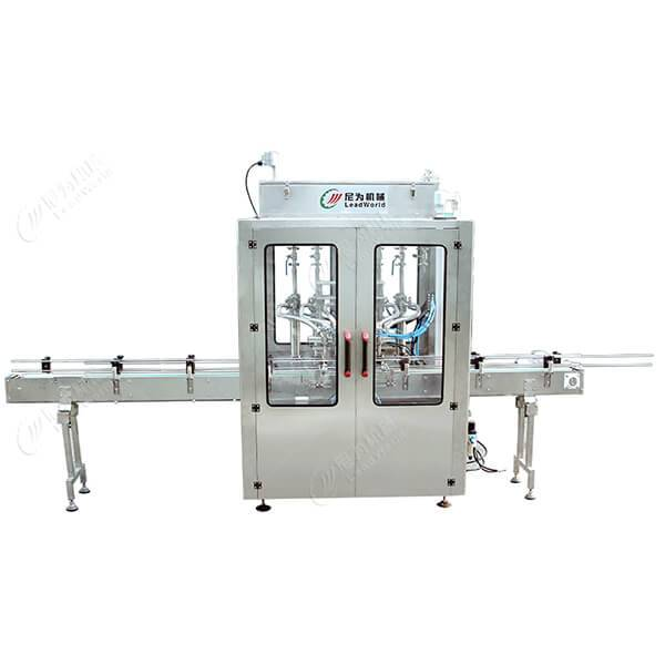 China Gold Supplier for Small Volume Nail Polish Filling Machine -  automatic Paste & sauce bottle filling production line – Leadworld Machinery