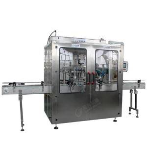 Professional China 3in1 Water Filling Machine - Automatic Shampoo detergent bottle filling production line – Leadworld Machinery