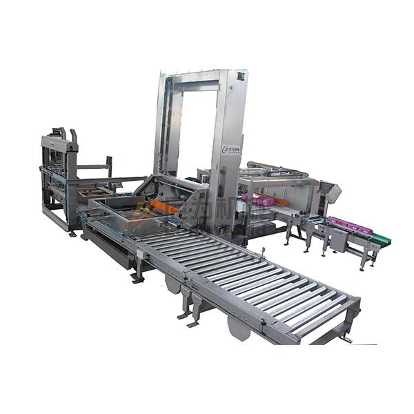 Rapid Delivery for Can Carbonated Beverage Production Line - Floor level palletizer – Leadworld Machinery