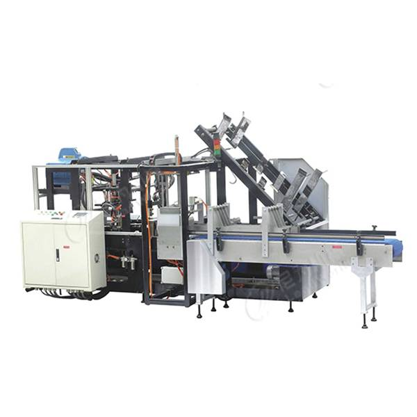 100% Original Factory Fruit Tray Making Machine - One paper carton packer machine – Leadworld Machinery