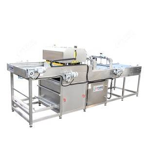 Original Factory Pear Production Line - Crate loading and unloading machine – Leadworld Machinery