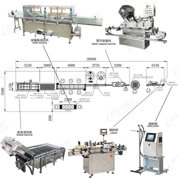 Factory directly Canned Fruit Processing Machinery -