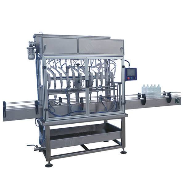 Factory making Paint Factory Production Line - flowmeter automatic bottle juice filling machine – Leadworld Machinery