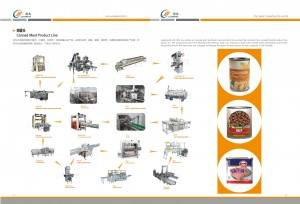 fish canned food production line