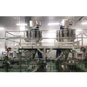 OEM Customized Canning Filling Machine - Canned chicken production line – Leadworld Machinery