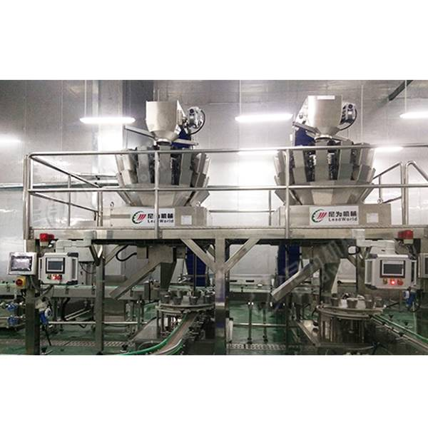Factory wholesale Automatic Juice Bottle Filling Machine - Canned chicken production line – Leadworld Machinery