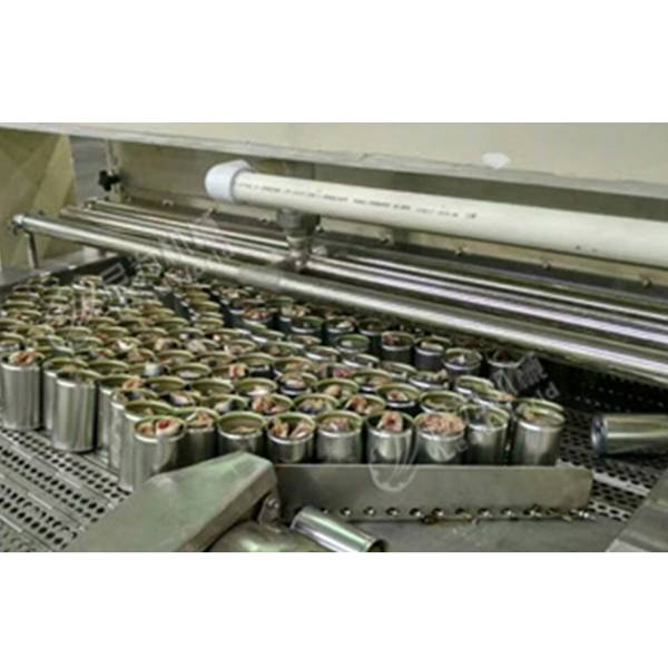 Super Purchasing for Aerated Water Filling Machine - Canned fish production line – Leadworld Machinery