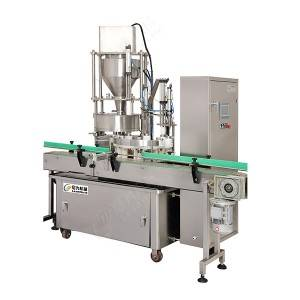 automatic pickle glass jar filling machine