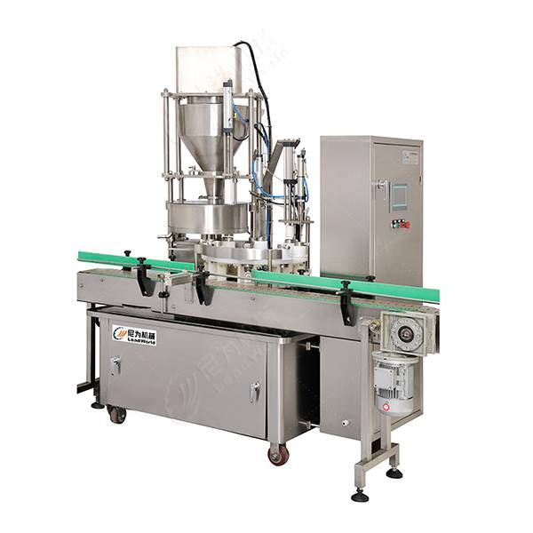 OEM/ODM Supplier Mushroom Canning Production Line - automatic pickle glass jar filling machine – Leadworld Machinery