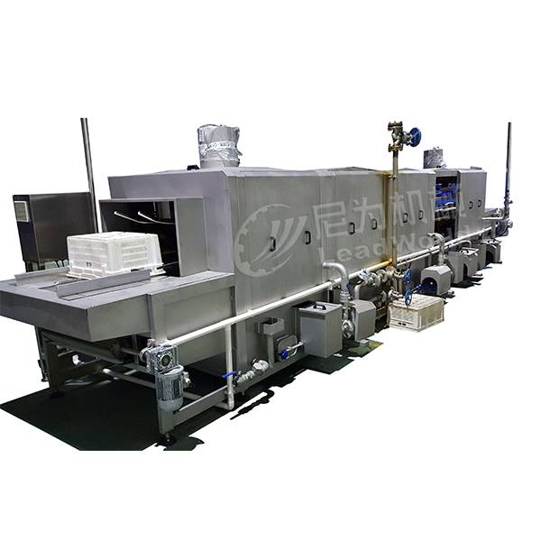 Leading Manufacturer for Fruit Juice Bottling Equipment - crate washing machine – Leadworld Machinery
