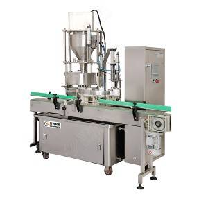 Professional Design Pure Water Bottle Shrink Labeling Machinery - automatic pickle jar filling production line – Leadworld Machinery