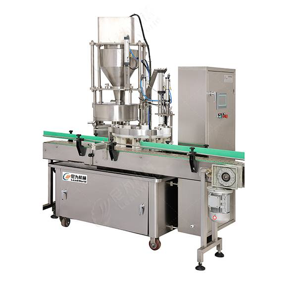 Cheapest Factory Canned Sardines Processing Machinery - automatic pickle jar filling production line – Leadworld Machinery