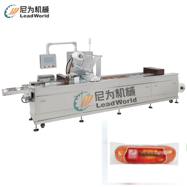OEM China Power Particle Filling Machine - Auto thermoforming & vacuum packing machine – Leadworld Machinery