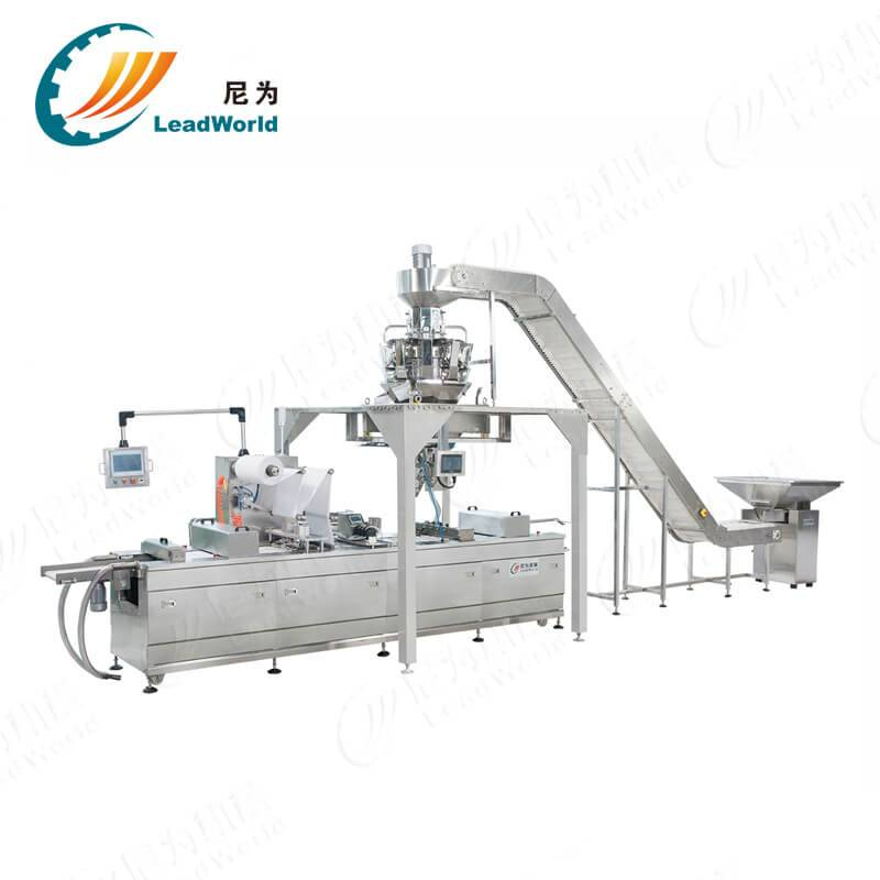 Short Lead Time for Bottled Water Equipment For Sale - date palm vacuum stretch film forming machine – Leadworld Machinery