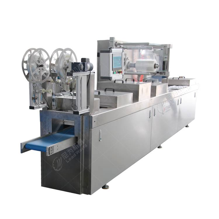 Massive Selection for Bean Bag Filling Machine - corn grain stretch film forming machine – Leadworld Machinery