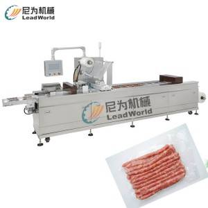 2017 wholesale price Apple/orange/peach Juice Filling Machine - sausage vacuum stretch film packaging machine – Leadworld Machinery