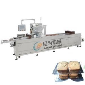 Manufacturer of Tomato Sauce Canning Machine - compressed biscuit cookie vacuum stretch film forming film packaging machine – Leadworld Machinery