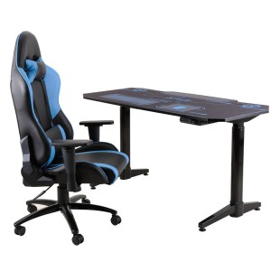 Factory directly supply Dual Monitor Gaming Desk -