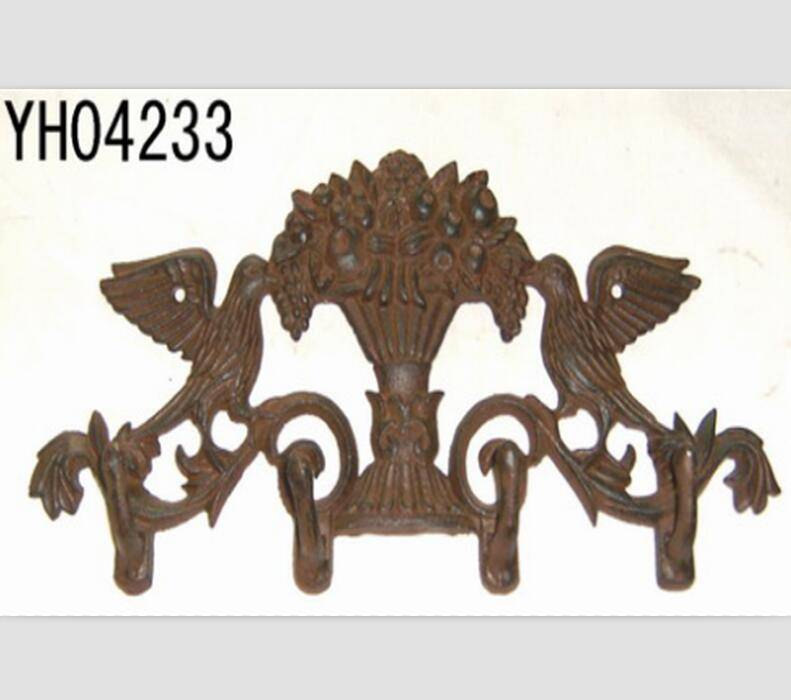 sunflower look cast iron hanger