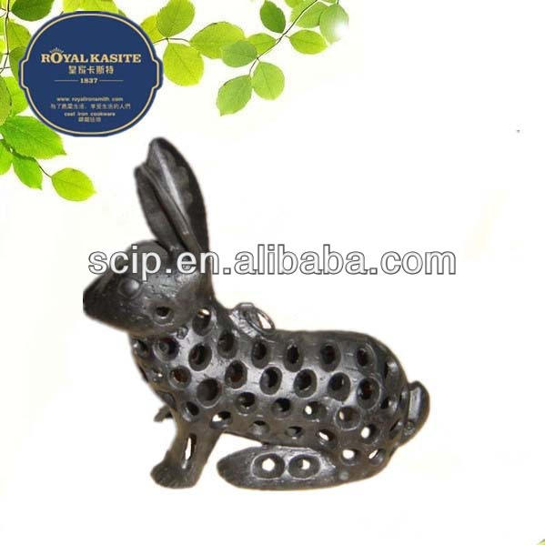 rabbit cast iron lantern