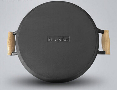 hot sale FDA certification round cast iron dish