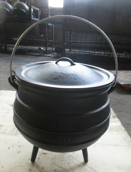 3 legs cast iron potjie pot size 10 Featured Image