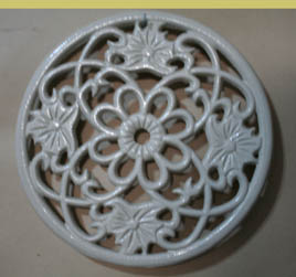 Certification top qulity cast iron trivets for hot sales