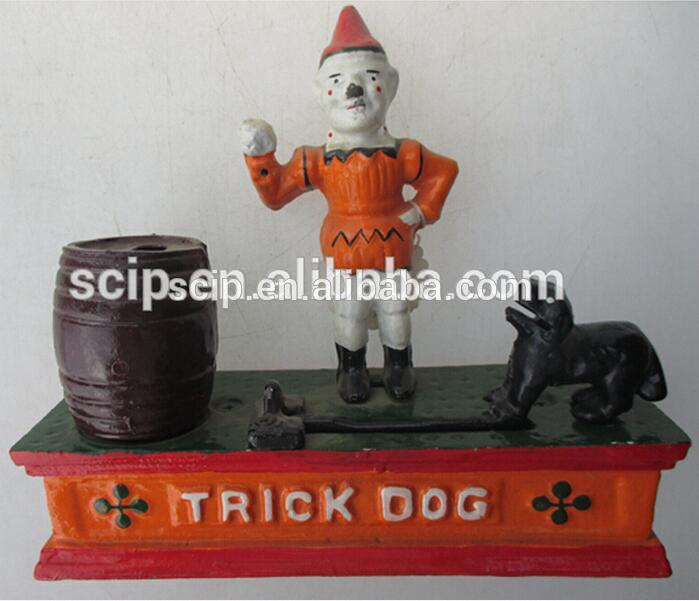 nice quality cast iron money bank for sale