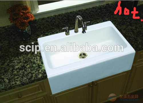 single-bowl square cast iron countertop sinks,cast iron countertop sinks