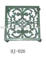 cast iron flower stand