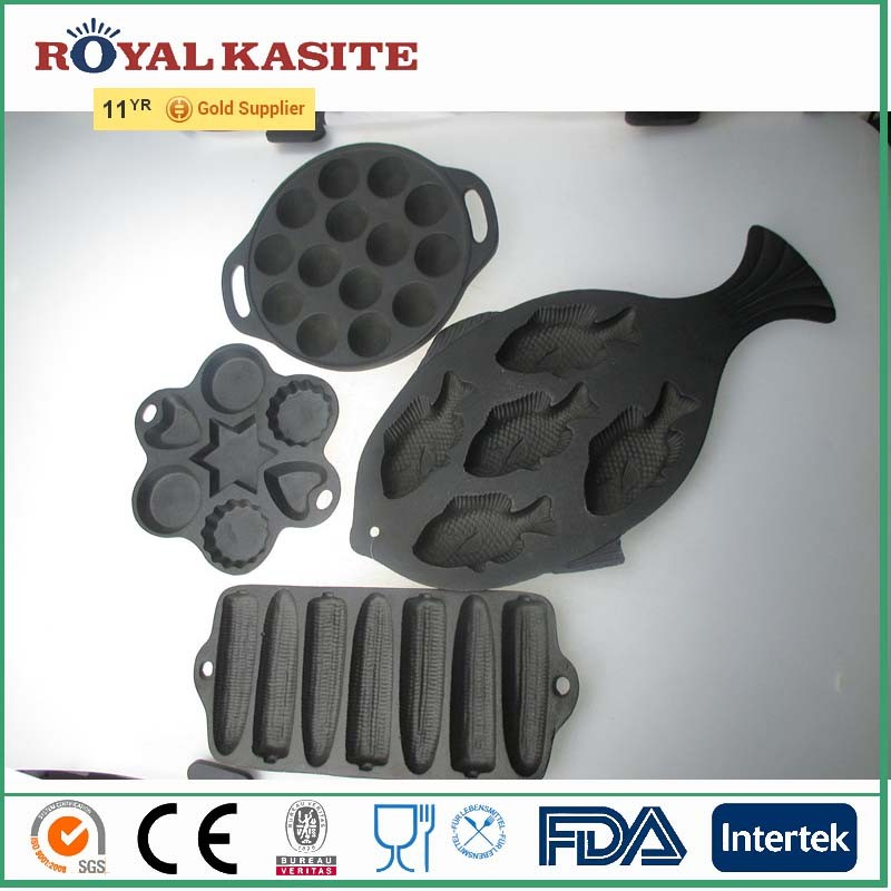 Cast Iron Bakeware, wholesale baking pan for cake