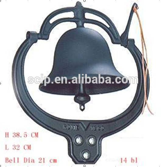cast iron bell, big cast iron bell for sale