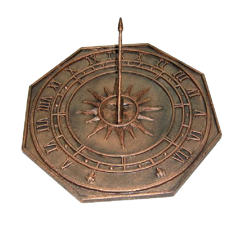 new pattern cast iron sundial YH05514