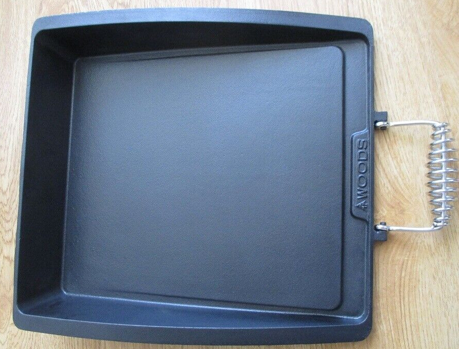 hot sale square cast iron tray