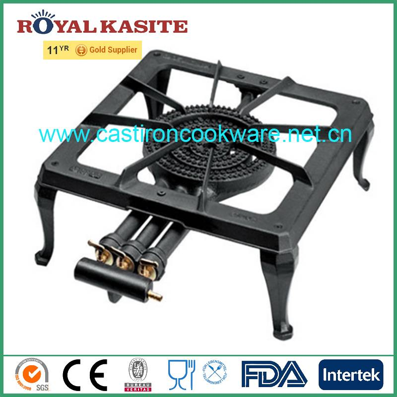 hot sale long pipe cast iron three ring industrial gas burner