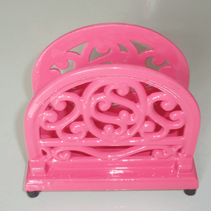 cast iron kitchen accessories 5 sets cast iron menu shelf  paper holder napkin holder