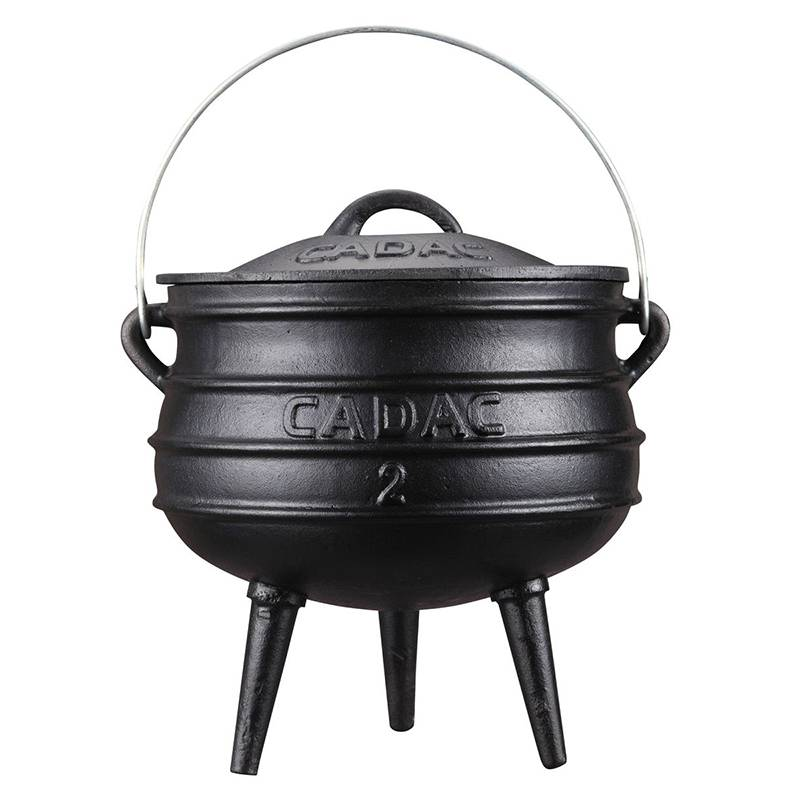 Cat iron Potjie Pot #2 – 5.3 Litre (7.7kg)