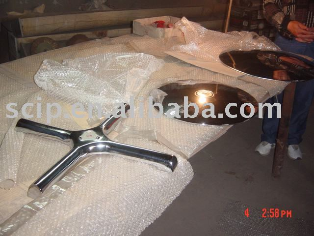 cast iron table parts