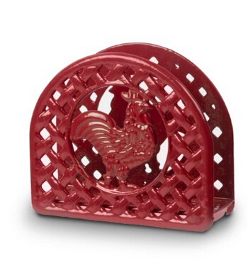 Anchor Hocking Rooster Napkin Holder Featured Image