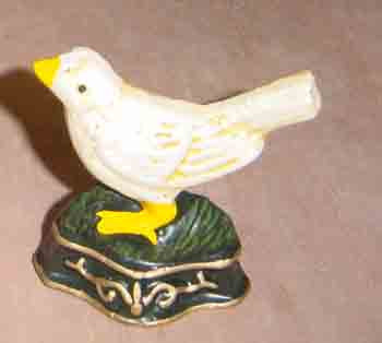 high quality bird cast iron door stop