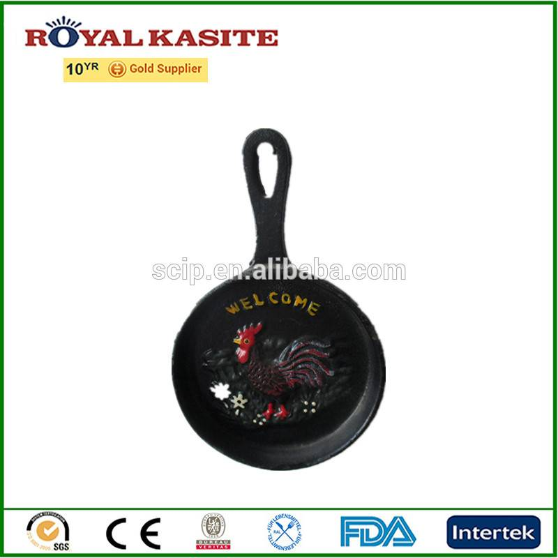 Royal Kasite excellent hand paint cast iron mini fry pan