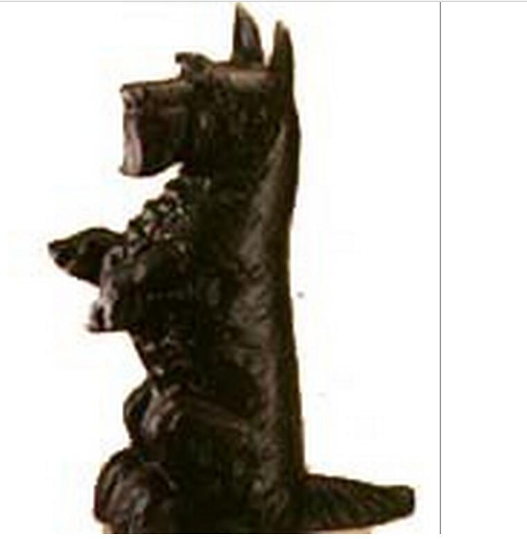 hen1017 cast iron door stop