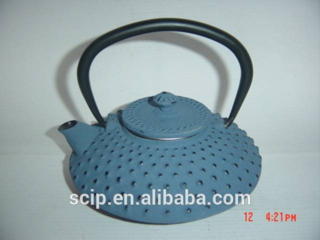 cast iron teapot colorful different capacity