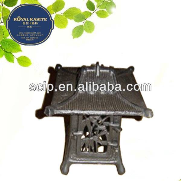 outdoor cast iron lantern