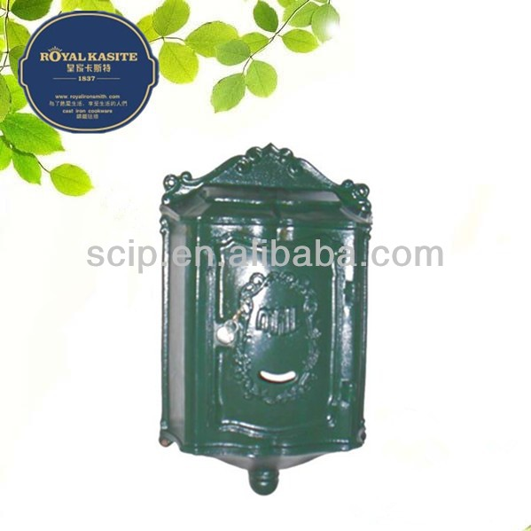 cast iron letter box hot sale
