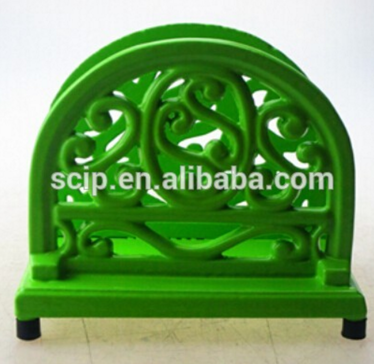 colorful cast iron paper holder cast iron Na