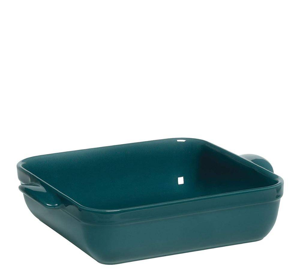 Royal Kasite wholesaler 28 x 23 x 6 cm Natural Chic Square Baking Dish, ceramic