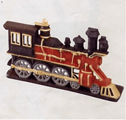 he1036 cast iron door stop train