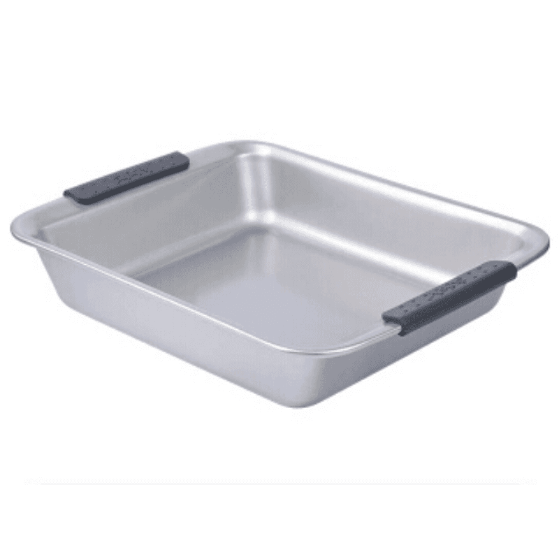 silver color non-stick carbon steel bake pan